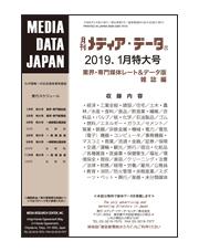 月刊メディア・データ業界雑誌版2019年1月号